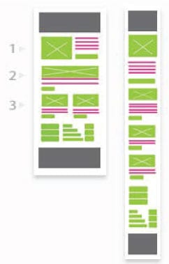 Mailchimp modular template - 3 modules