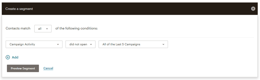 How to: set up a re-engagement campaign in mailchimp