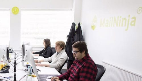 MailNinja HQ team photo - Doug Dennison, CEO
