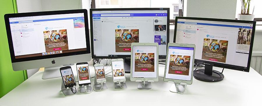 MailNinja live email device testing lab