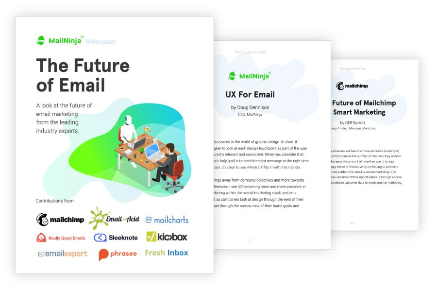 future of email marketing white paper market report