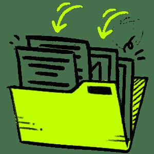 Mailchimp email campaign content library studio