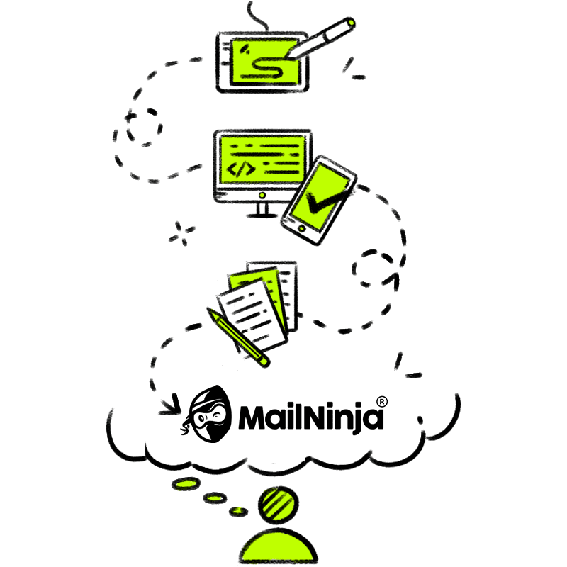 MailNinja email marketing solution service - email management service
