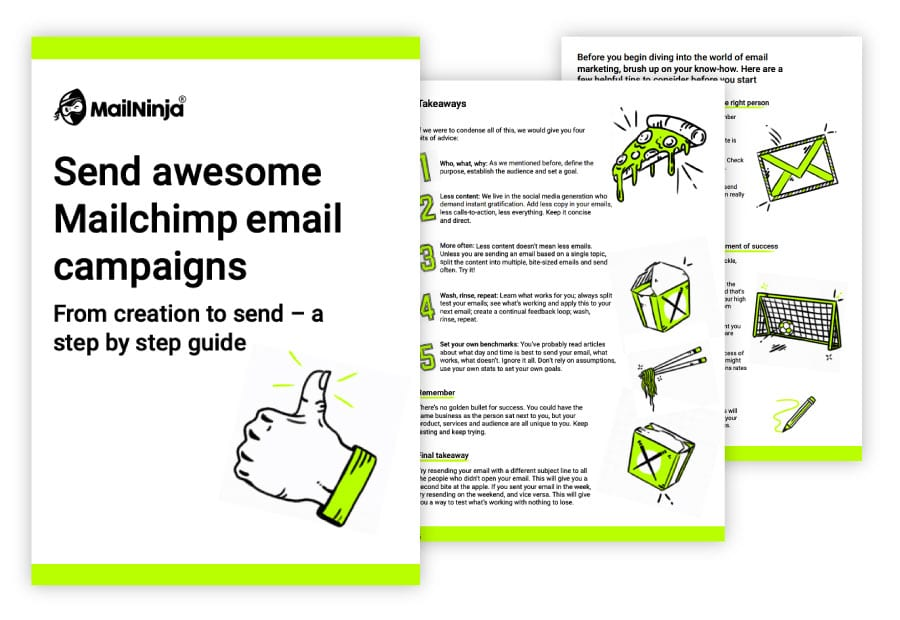 Free guide to email campaigns