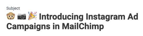 Email design review: mailchimp