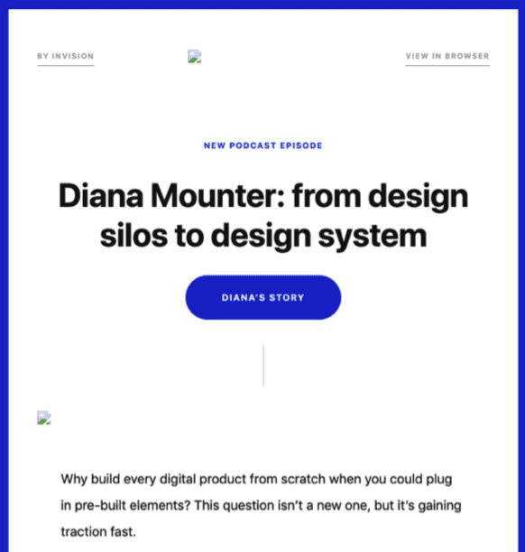 Email design review: invision