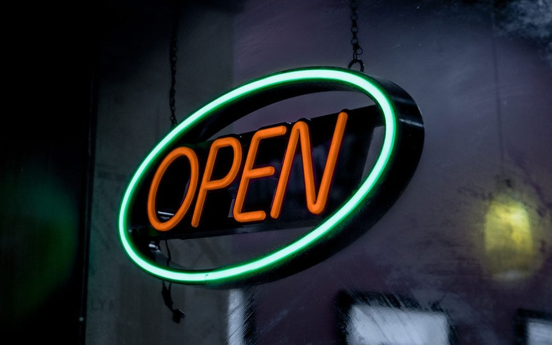 What is an email open rate?