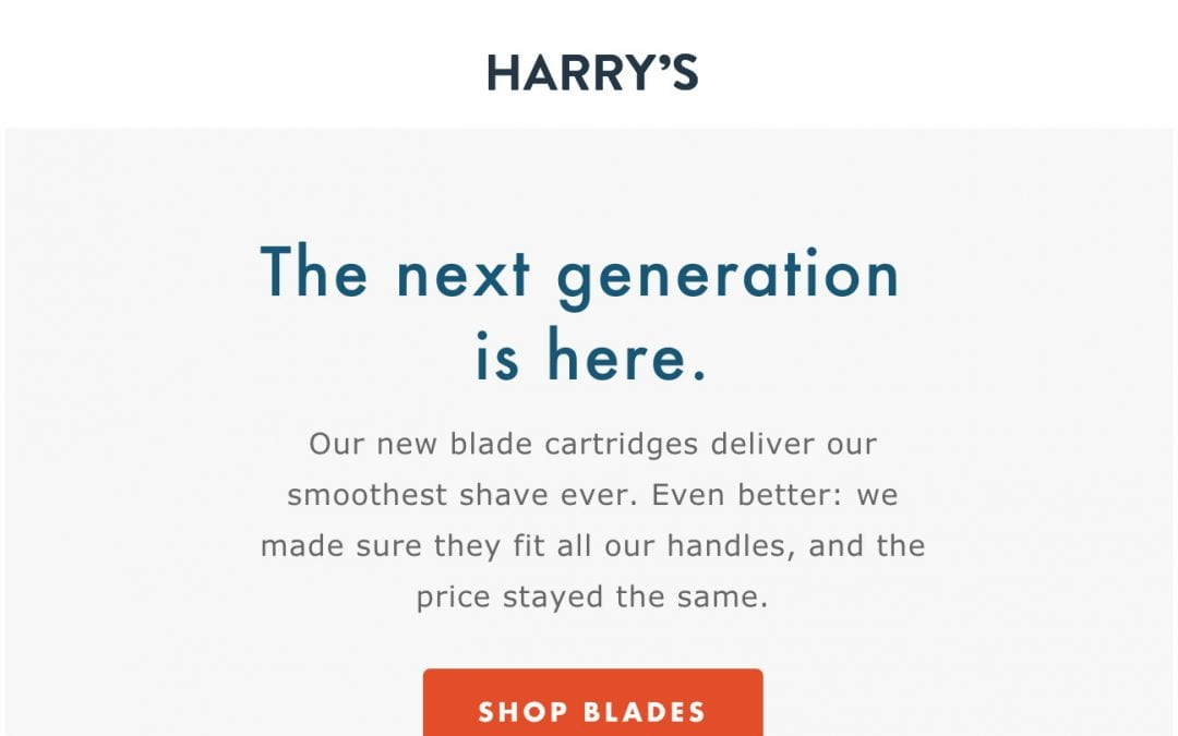 Email design review: Harry's2 min read