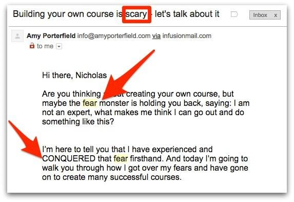 Copywriting tips for email marketing