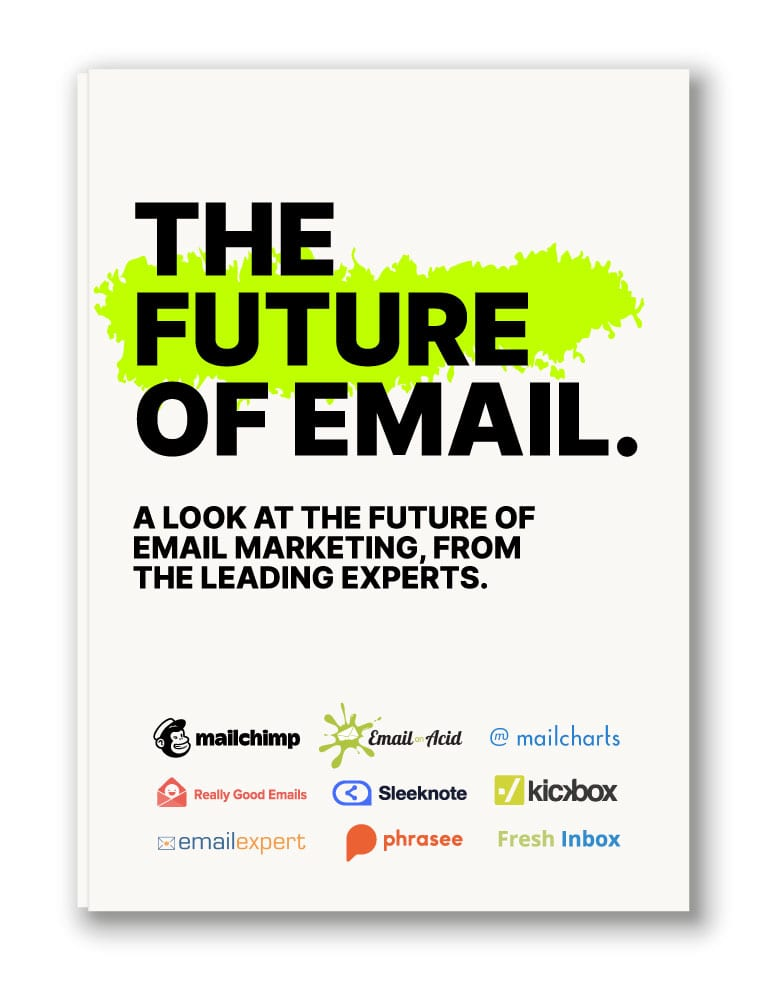 The future of email [pdf]