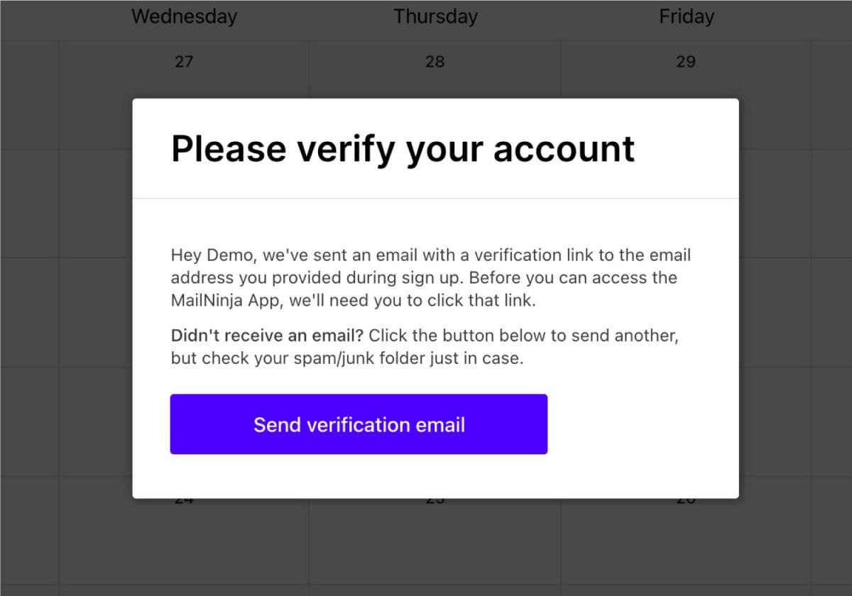 How do i sign up to mailninja