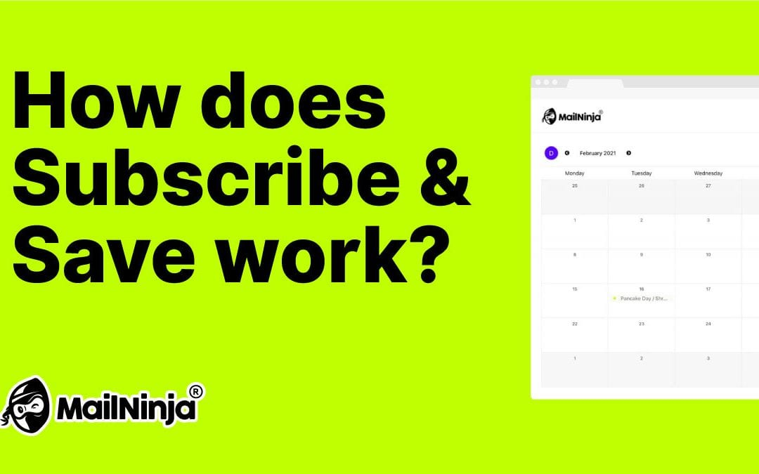 How does Subscribe & Save work?