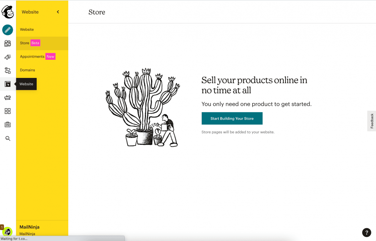 Mailchimp stores: a giant leap forward into commerce