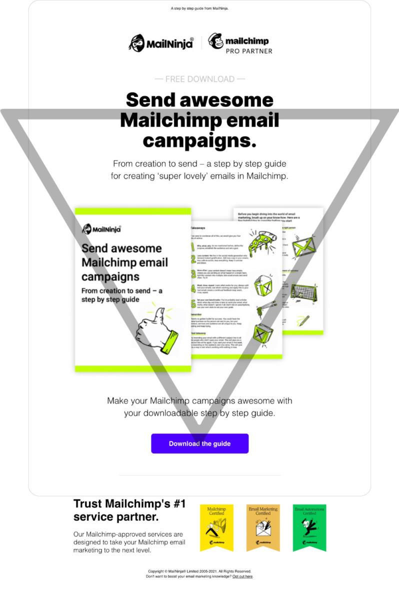 email campaign design service